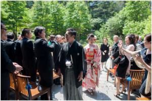 響 赤坂のガーデン結婚式
